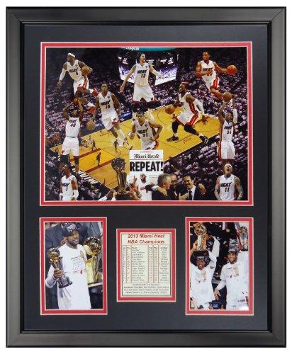 - Miami Heat - 2013 NBA Champions Collage Floor 16