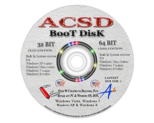 ACSD BOOT DISK - Advanced System Recovery / Pasword Reset...