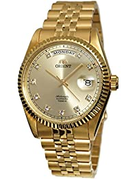 """President"" Classic Automatic Sapphire Gold Watch EV0J001G"