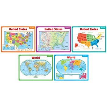 Bulletin Board Map US Map Learning Curve Reading Takes Us Places