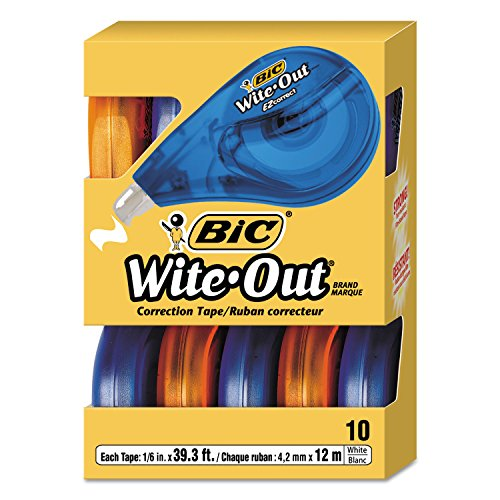UPC 703305079060, BICWOTAP10 - BIC Wite-Out EZ Correct Correction Tape
