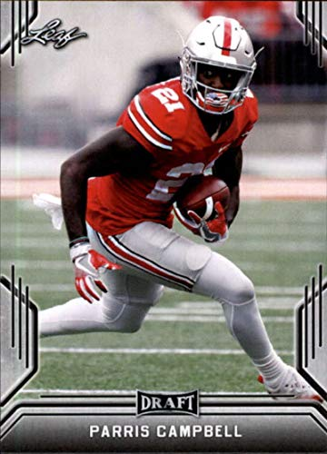 2019 Leaf Draft Football RC Rookie Card #61 Parris Campbell Ohio State - Card Campbell Rookie