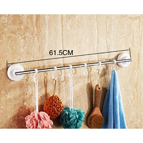 suction cup towel rack/Towel shelf /toilet/Bathroom storage rack/wall mounted rack/Bathroom hardware accessories set/punch-free bathroom rack-H 50%OFF