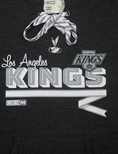 NHL LOS ANGELES KINGS Womens Athletic Warm Hockey Hoodie / Sweatshirt