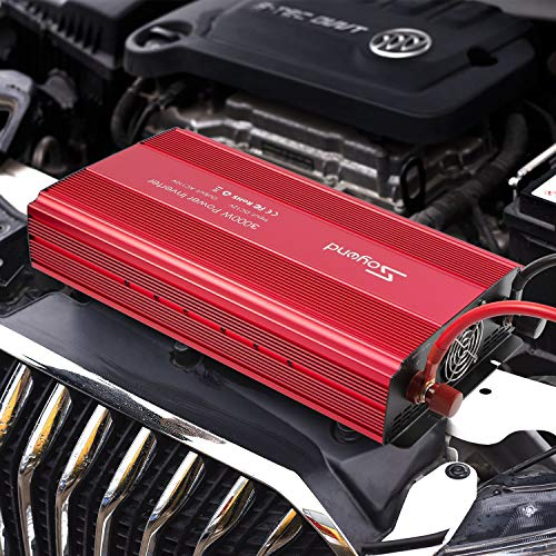 soyond 3000W Power Inverter for Home Car RV with AC Outlets Converter DC 12V in to AC 110V Out by soyond (Image #7)