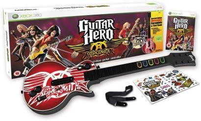 Guitar Hero: Aerosmith - Guitar Bundle (Xbox 360) [Importación ...