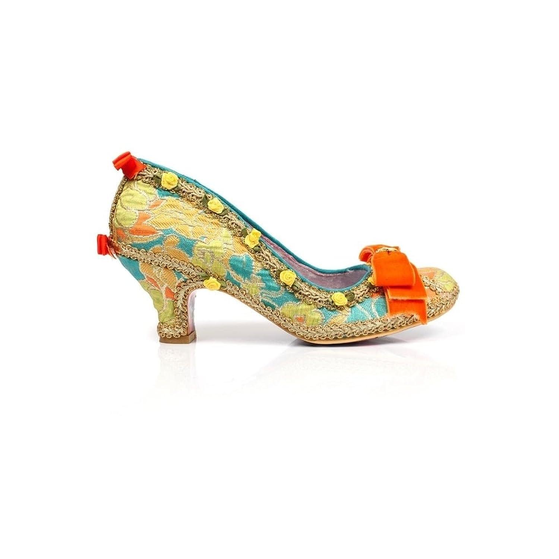 Irregular Choice Bish Bash Bow Yellow Irregular Choice Low Heel Shoes UK 6 OePCeN1gb2
