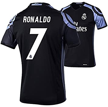 adidas Camiseta del Real Madrid, tercera equipación, para hombre, Ronaldo 7