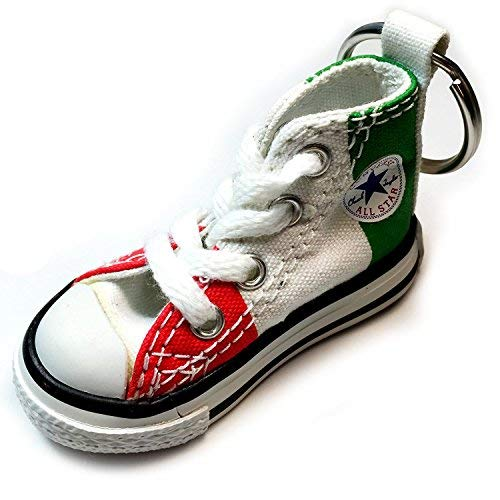 Converse Key Chain All Star Chuck Taylor Sneaker Keychain Authentic (Italy Flag)