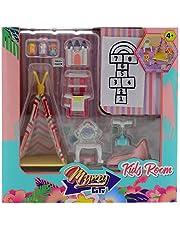 Mymy City - Set Muebles, habitación niña para niños y niñas de 3 a 8 años (Famosa 700015356)