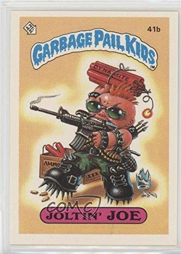 Joltin' Joe (Two Star Back) (Trading Card) 1985 Topps Garbage Pail Kids Series 1 - [Base] #41b.2 ()