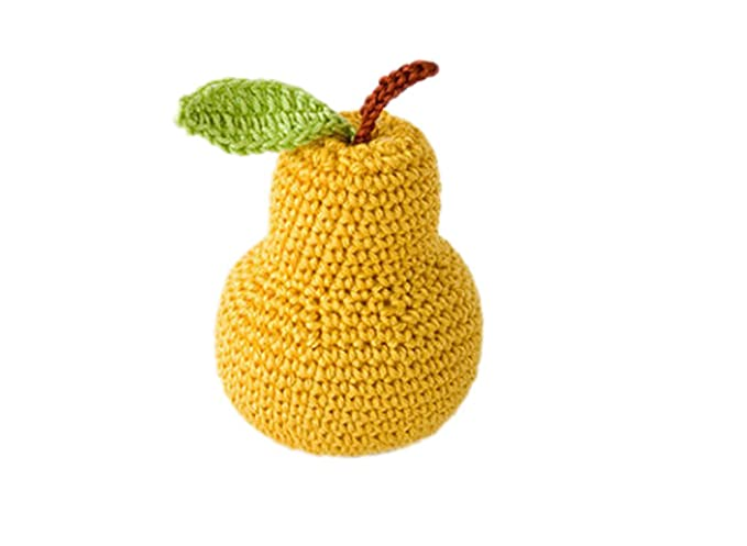 Deley 1 Stück Baby Kinder Spielzeug Häkeln Gestrickt Gemüse Obst