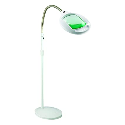 Brightech lightview pro led magnifying glass floor lamp magnifier brightech lightview pro led magnifying glass floor lamp magnifier with bright light for reading aloadofball Images