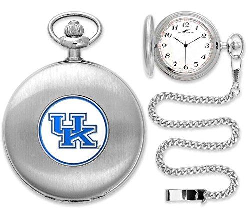 Wild Pocket Watch (Kentucky Wildcats Silver Pocket)