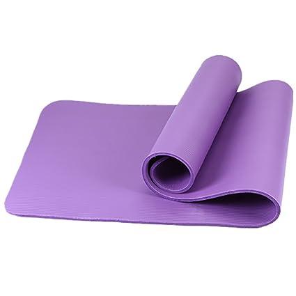 Amazon.com : FANFF Yoga mats Yoga Mat 10MM Multifunctional ...
