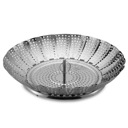 Stainless Steel Collapsible Vegetable Steamer 12 Inch BIGkitchen COMINHKR044084