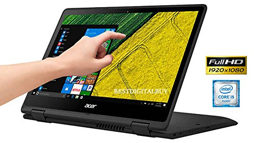 Acer Spin 5 SP513-51 Touch 2-1 Laptop Intel Core i5 up to 3.1GHz 8GB 256GB SSD 13.3″ Full HD HDMI Cam (Certified Refurbished)