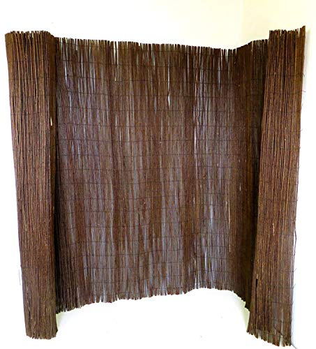 Master Garden Products WF5 Willow Fencing 5#039H x 14quot L Brown