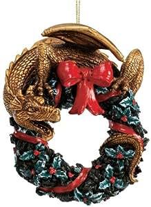 Twist and Twirl Dragon Ornament - Set of Three