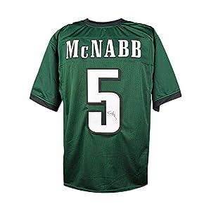 Donovan McNabb Autographed Philadelphia Eagles Green Jersey - JSA COA