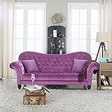 Amazon.com: Purple - Sofas & Couches / Living Room Furniture: Home ...