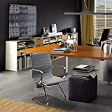 Wahson Heavy Duty Leather Office Guest Chair Mid