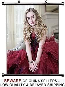 Amazon.com: Sabrina Carpenter Actress Fabric Wall Scroll