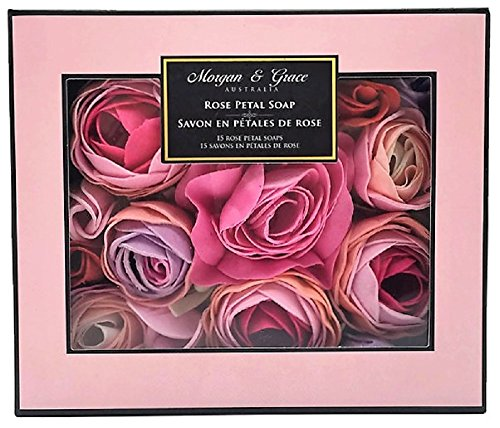 Pearl Morgan Rose (Morgan & Grace Rose Petal Soap - 15 Soaps)