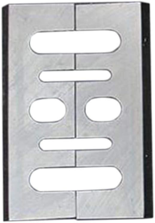 xluckx Cuchillas Cepilladoras 2 Piezas Cortador De Cepilladora HSS De Acero De Alta Velocidad Reafilable 82 Mm ideal