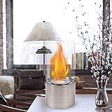 JHY DESIGN Tabletop Fire Bowl Pot Indoor/Outdoor