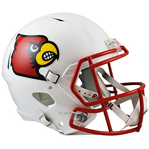 Louisville Cardinals Officially Licensed NCAA Speed Full Size Replica Football Helmet by Riddell