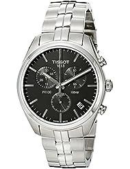 Tissot Mens T1014171105100 Analog Display Quartz Silver Watch