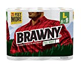 Health & Personal Care : Brawny® Paper Towels, Full Sheet, 6 Large Rolls