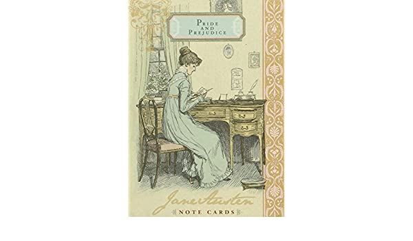 Jane Austen Note Cards - Pride and Prejudice by Potter Style ...