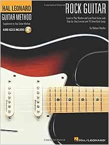 Amazon.com: Hal Leonard Rock Guitar Method: Book/Online