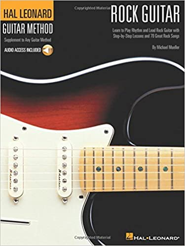 Hal Leonard Guitar Method: Rock Guitar Book/Online Audio Hal ...