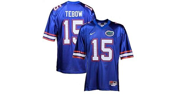 newest a06ad c804d Amazon.com : Nike Tim Tebow Florida Gators #15 Tackle Twill ...