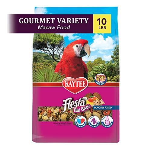 Kaytee Fiesta Big Bites Macaw Food, 10-Lb Bag