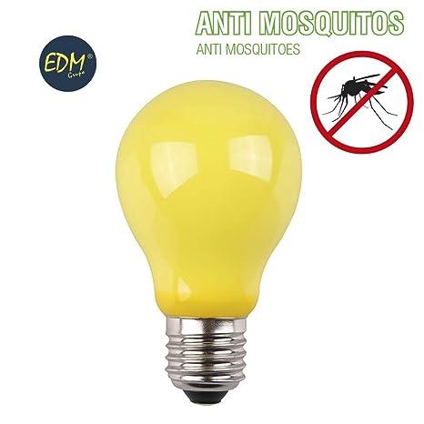 BOMBILLA LED ANTIMOSQUITOS E27 4W 360 LUMENS EDM