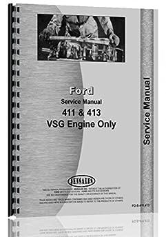 amazon com ford vsg 411 engine service manual 0739718049321 ford rh amazon com Downloadable Online Chevrolet Repair Manuals Chilton Manuals