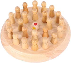 Los niños de Madera de Memoria impostores de ajedrez Juego de Bloques de Mesa Juguetes educativos, Juegos de Mesa para familias con niños, Juguete Tablero de ajedrez