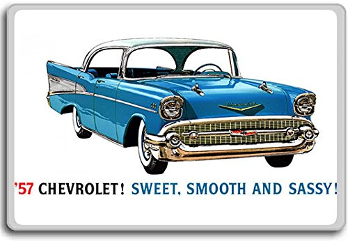 Chevrolet 1957 Chevy Vintage Art fridge magnet
