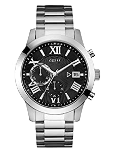 GUESS Watches Stainless Steel Deployment Buckle