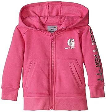 Amazon Carhartt Baby Girls Logo Zip Sweatshirt Clothing