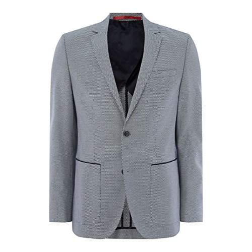 [フューゴ] メンズ ジャケット&ブルゾン Jason Birdseye Blazer [並行輸入品] B07F346N6K 40 Regular