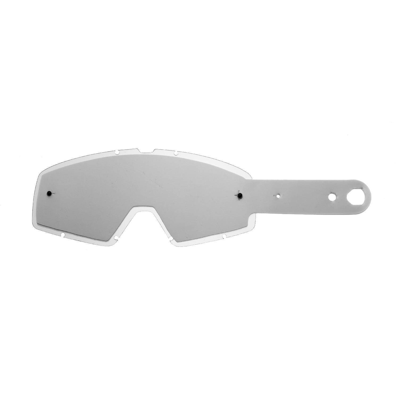 SeeCle 414F06 lentilles combin/ées avec lentilles de couleur transparent avec 10 tear off compatible avec masque Fox Main Pro Mx