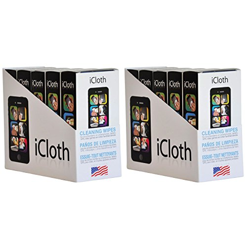 iCloth Lens and Screen Cleaner   10 x 30 wipe boxes(each wipe 9cm x 13cm - 1 ml fill) For use on Glasses, Chromebooks, Tablets, Smartphones, Sunglasses, Eyeglasses, Cameras and - Sunglasses Top 10 Expensive