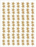 Teacher Created Resources Gold Stars Foil Stickers, Gold (1276)
