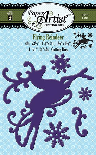 Reindeer Cutting Dies Page Two