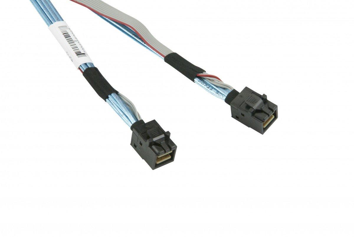 Supermicro CBL-SAST-0593 60cm Mini-SAS HD to Mini-SAS HD Internal 30AWG Cable